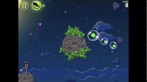 Angry Birds Space Pig Bang 1-20 Walkthrough 3-star