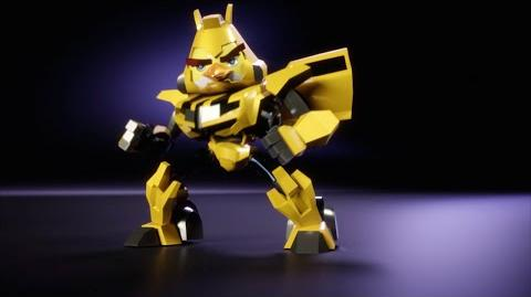Angry Birds Transformers Chuck as Bumblebee!