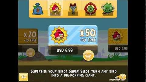 First Look at Angry Birds New Features Power-ups, King Pig, and More