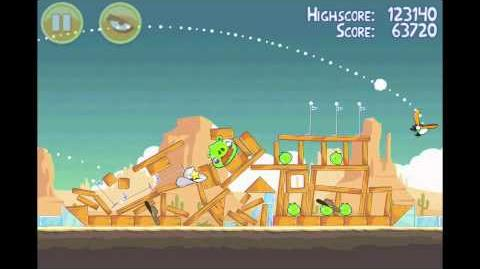 Angry Birds 3 Star Walkthrough Level 13-15