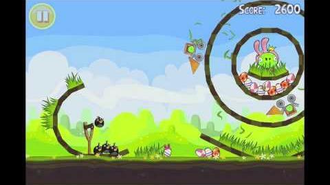 Angry Birds Seasons Easter Eggs Golden Egg 17 Walkthrough