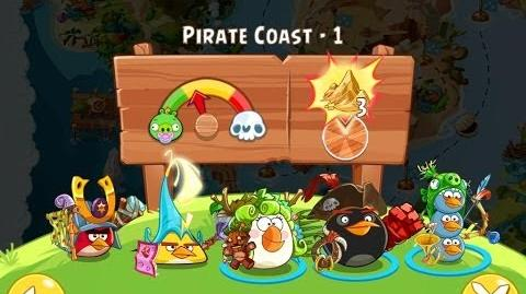 Angry Birds Epic Pirate Coast Level 1 Walkthrough