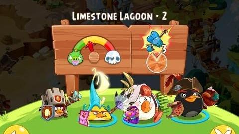 Angry Birds Epic Limestone Lagoon Level 2 Walkthrough