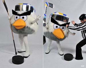 Angry birds your iihf world championship mascot