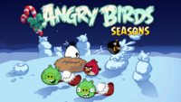 Angry Birds Seasons Loading Screen Winter Wonderham