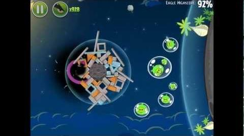 Angry Birds Space Pig Bang 1-16 Space Eagle Walkthrough