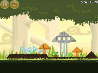 Official Angry Birds Walkthrough Danger Above 6-3