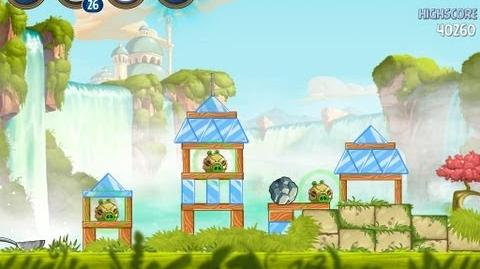 Angry Birds Star Wars 2 Level B1-2 Naboo Invasion 3 star Walkthrough