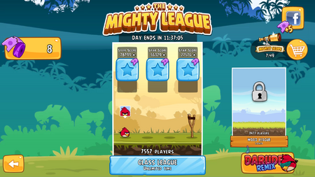 Angry Birds Mighty League 1