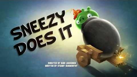 "Angry Birds Toons episode 19 sneak peek ""Sneezy Does It"""