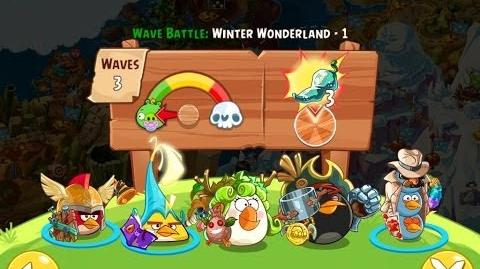 Angry Birds Epic Winter Wonderland Level 1 Walkthrough