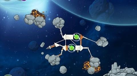 Angry Birds Space Beak Impact 8-11 Walkthrough 3 Star