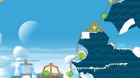 Angry Birds Seasons Arctic Eggspedition 1-6 Walkthrough 3 Star