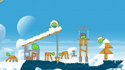 Angry Birds Seasons Arctic Eggspedition 1-9 Walkthrough 3 Star