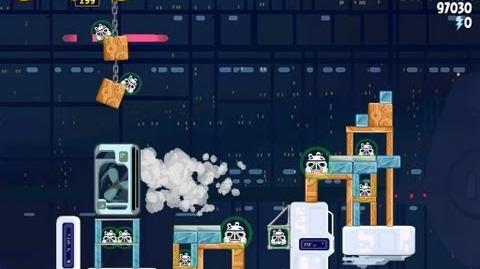 Cloud City 4-33 (Angry Birds Star Wars)/Video Walkthrough