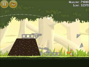 Official Angry Birds Walkthrough Danger Above 6-6