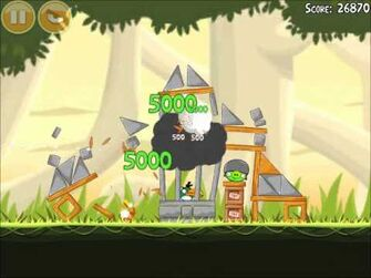 Official Angry Birds Walkthrough Danger Above 6-4