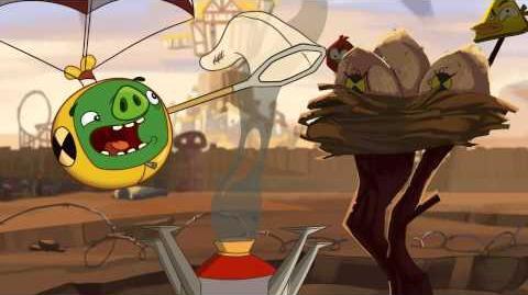 "Angry Birds Toons episode 17 sneak peek ""Crash Test Piggies"""