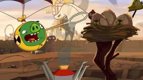 "Angry Birds Toons episode 17 sneak peek ""Crash Test Piggies"""