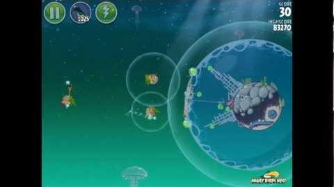 Angry Birds Space Pig Dipper 6-22 Walkthrough 3-Star