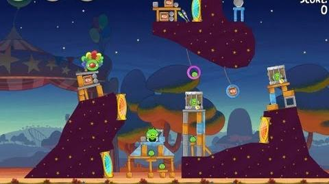 Angry Birds Seasons Abra-ca-Bacon 2-2 Walkthrough 3-Star