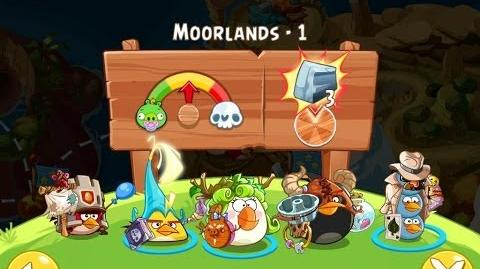 Angry Birds Epic Moorlands Level 1 Walkthrough