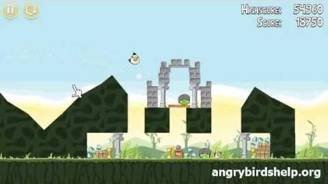 Angry Birds Level 2-15 - 3 Star Walkthrough