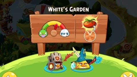 Angry Birds Epic White's Garden Walkthrough