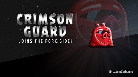 NEW! Angry Birds Star Wars 2 Carbonite Pack character reveals Crimson Guard