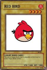 Red Bird Card
