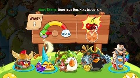 Angry Birds Epic Northern Hog Head Mountain Walkthrough