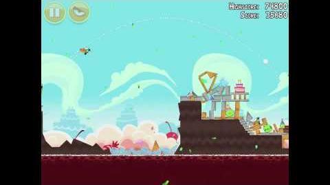 Angry Birds Birdday Party 18-10 Walkthrough 3 Star Birthday Party