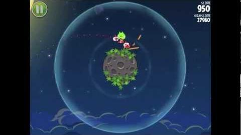Angry Birds Space Pig Bang 1-1 Walkthrough 3-star