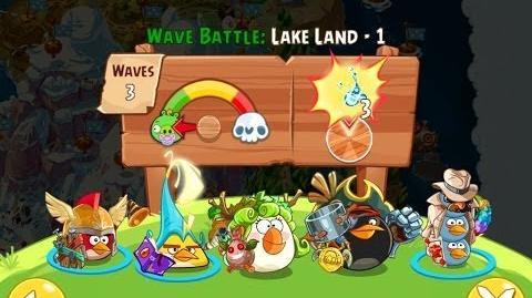 Angry Birds Epic Lake Land Level 1 Walkthrough