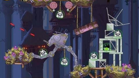Moon of Endor 5-8 (Angry Birds Star Wars)/Video Walkthrough