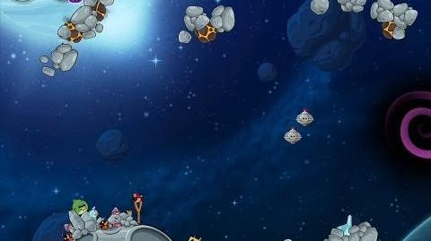 Angry Birds Space Beak Impact 8-20 Walkthrough 3 Star