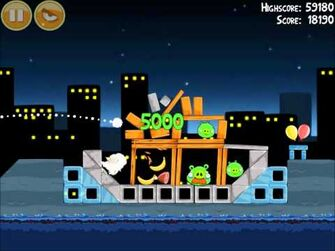 Official Angry Birds Walkthrough Danger Above 7-13