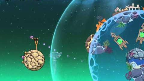Angry Birds Space Pig Dipper 6-7 Walkthrough 3-Star