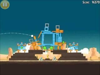 Official Angry Birds Walkthrough Ham 'Em High 12-12