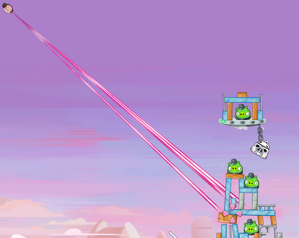 File:Pink Bird Using The Force.png