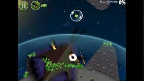 Angry Birds Space Pig Bang 1-6 Space Eagle Walkthrough
