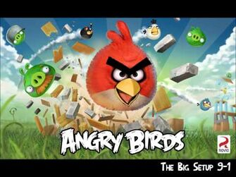 Official Angry Birds Walkthrough The Big Setup 9-1