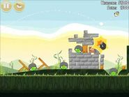 Official Angry Birds Walkthrough Poached Eggs 2-20