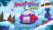 Angry Birds Seasons Ski or Squel