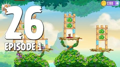 Angry Birds Stella Level 26 Walkthrough Branch Out Episode 1