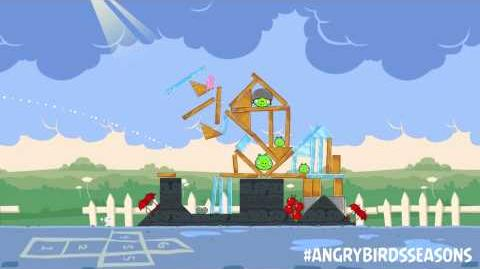 Angry Birds Seasons Back to School with the new Pink Bird