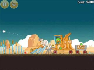 Official Angry Birds Walkthrough Ham 'Em High 13-13
