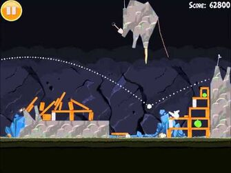 Official Angry Birds Walkthrough Mine and Dine 16-7