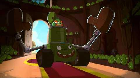 "Angry Birds Toons episode 18 sneak peek ""Slappy-Go-Lucky"""