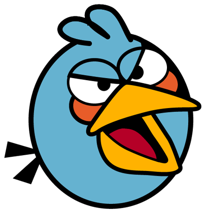 File:Angry blue bird.png